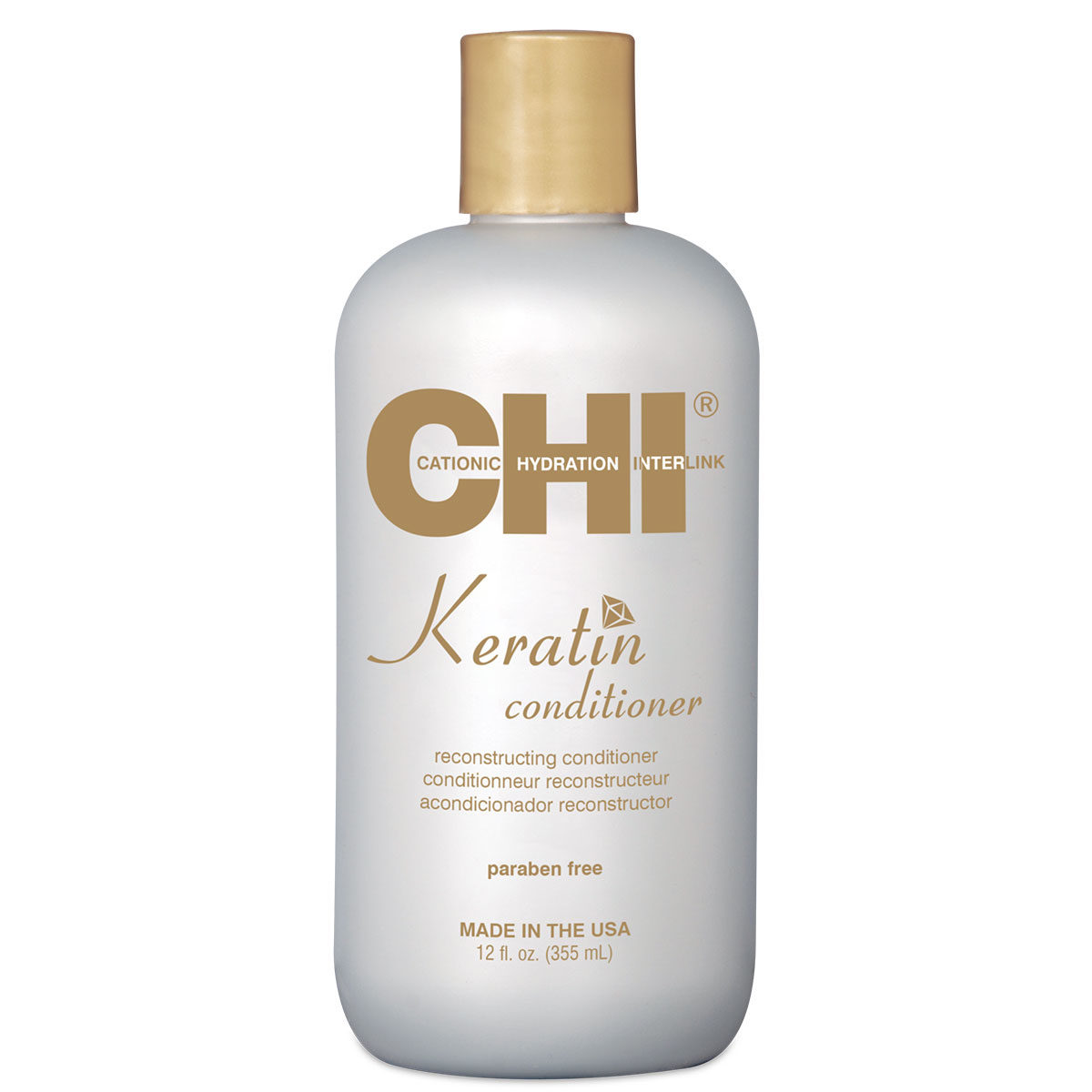 CHI Keratin Reconstructing Conditioner 12 fl. oz. - CHI Keratin - CHI Haircare