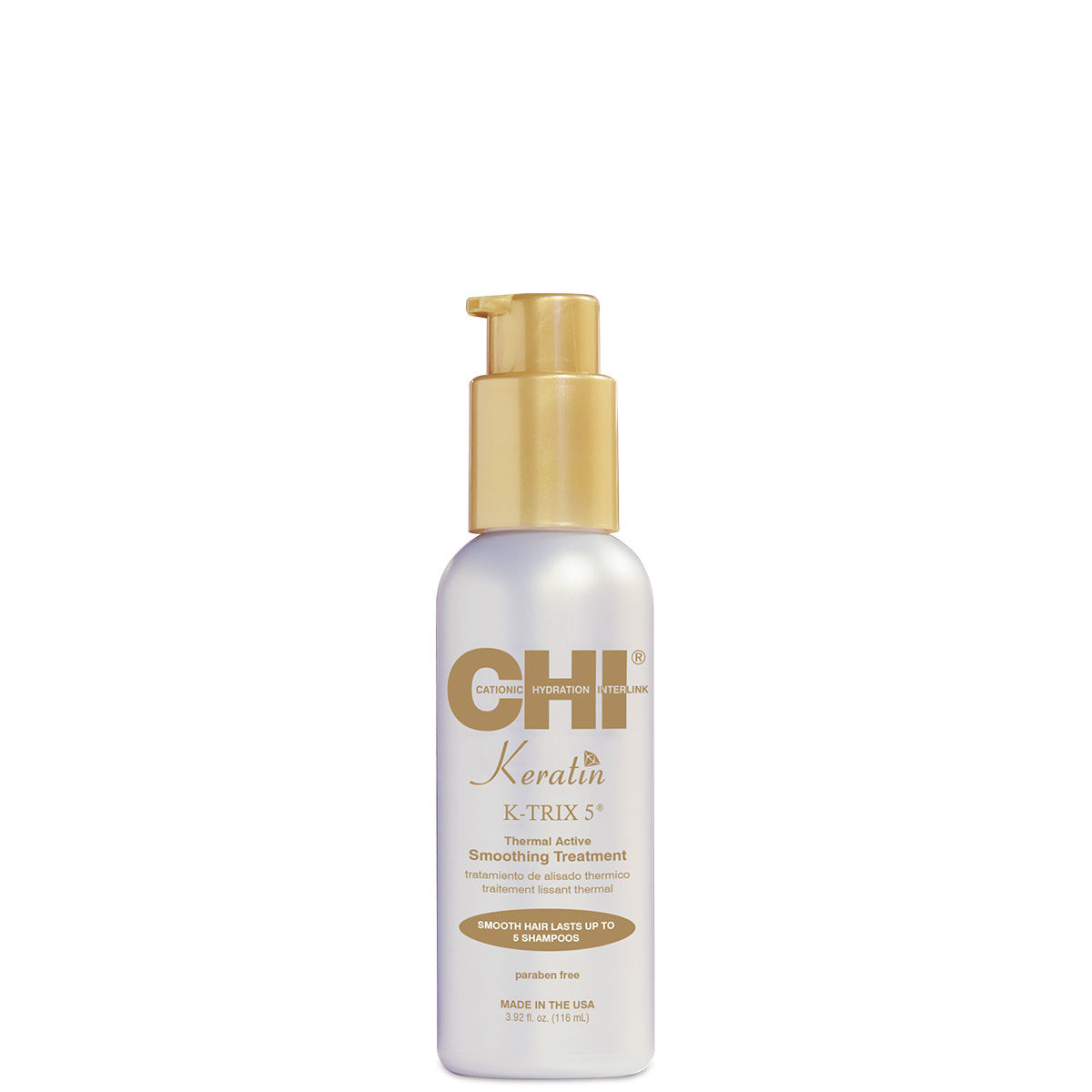 CHI Keratin K-TRIX 5 Smoothing Treatment 4 fl. oz. - CHI Keratin - CHI Haircare