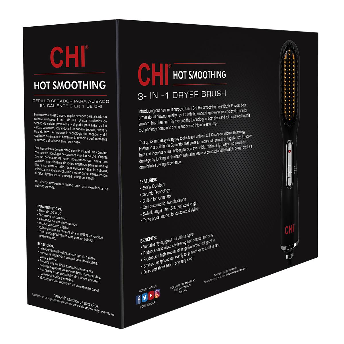 HI Hot smoothing brush - Ion Technology